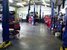 westfield motors workshop