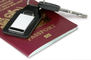 Passport & Car KeysPassport & Car Keys