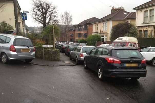 bad parking block junction