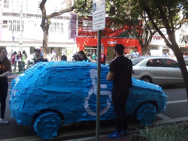 bad parking blue badge