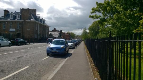 bad parking cycle lane