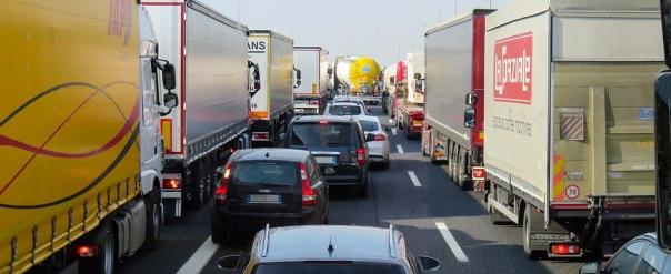 lorry traffic