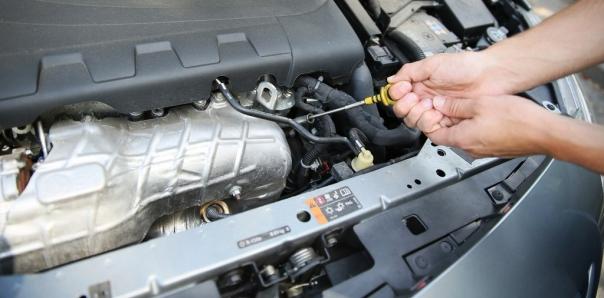 engine oil check