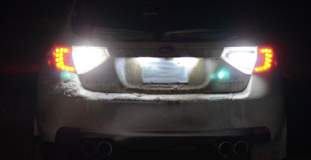 reverse lights
